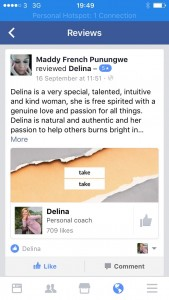 Working with Delina for a Card Reading or Coaching - 2