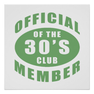 Official of the 30's club member